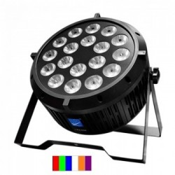 RGBWA+UV LED PAR SLIM 18X12W RGBWA+UV LED 6 EN 1 Big Dipper
