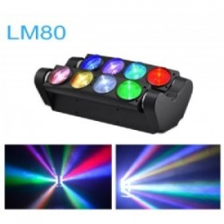LED SPIDER COLOR 8X8W RGBW BIG DIPPER