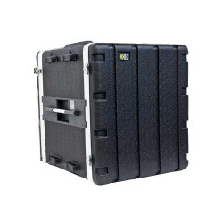 Case Rack 10U ABS Negro Marca Prolok