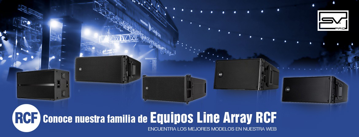 Line Array - Sonido Visual